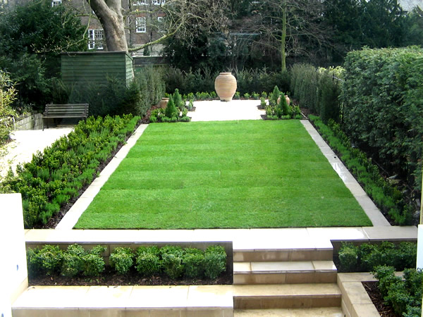 York garden design for Formal front garden ideas